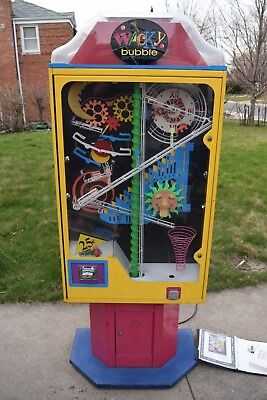 Wacky Bubble gumball factory Cool gum ball machine wowie zowie