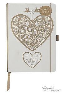 Wedding To Dos - Planner Book/Journal/Notebook/Organiser - Great Engagement Gift
