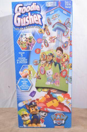 Goodie Gusher Paw Patrol Fun Safe Reusable Magic Key Party Piñata 2-15 Players