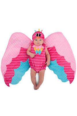 Pucken Wings Süß Eule Prinzessin Paradise Kostüm Baby Neugeborenes (Eule Kostüm Halloween)