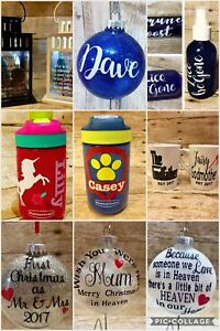 Personalized decor and gifts