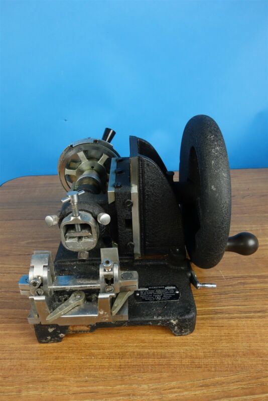 AO American Optical Model 815 Microtome - Working Condition