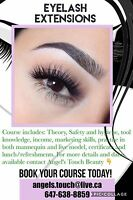 Eyelash Extensions Private Training $400