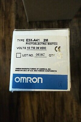 Omron Photoelectric Switch E3x-a41