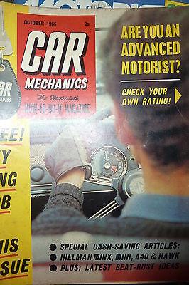 CAR MECHANICS OCTOBER 1965
