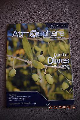 El Al Israel Airlines Atmosphere in-flight magazine - November 2009 edition