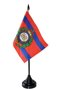 ROYAL-ENGINEERS-BRITISH-ARMY-TABLE-FLAG-desktop-flags-6-x-4-with-10-pole-UK