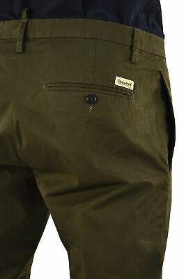 Dsquared2 Men s Green Casual Cotton Pants Pockets - Mod. S74KA0618S41796727 - 298,43€