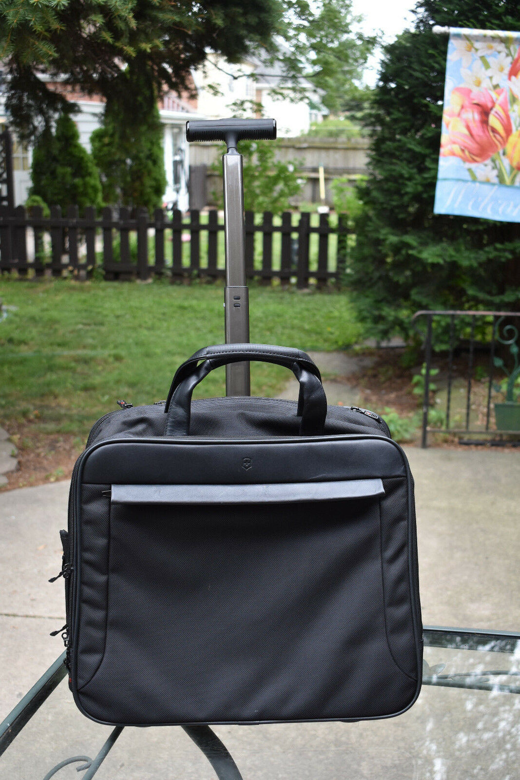 Swiss Victorinox Army Laptop Messenger Wheeled Carry On Briefcase Tote Bag - $39.99