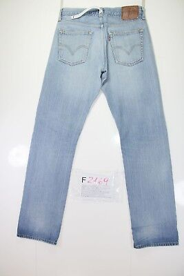 Jean levis 504 slim straight (code f2169) tg46 w32 l34 d'occassion mode vintage