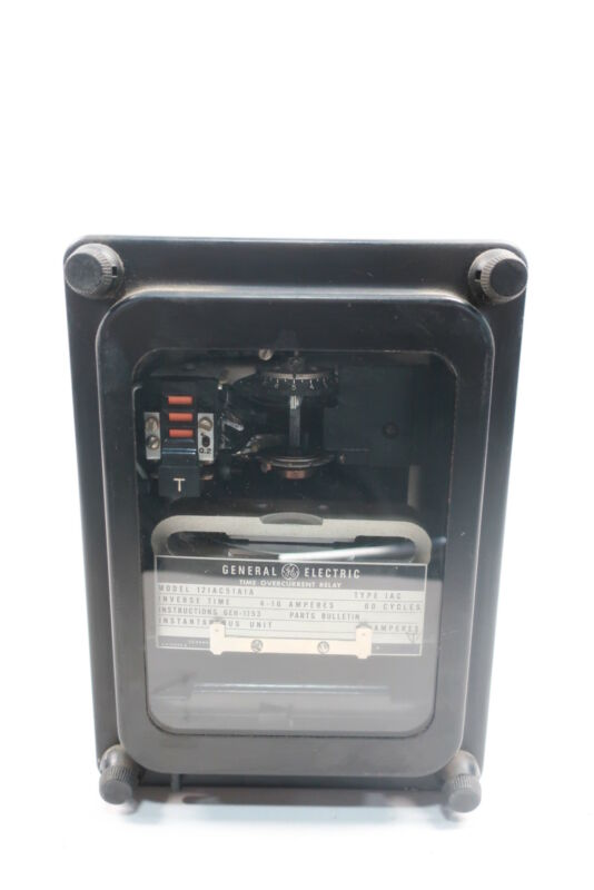 General Electric Ge 12IAC51A1A Time Overcurrent Relay