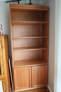 Bookcase with extra shelves Woodbine Campbelltown Area Preview