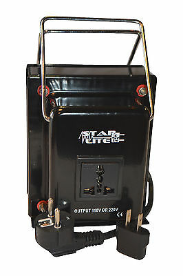 как выглядит 1000 Watt Heavy Duty Voltage Converter Transformer Step Up/Down 1000 Watt фото
