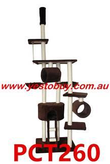 260cm Cat Tree, Scratch Post, Scratching Pole,Scratcher Furniture