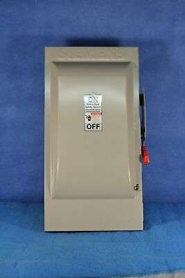 New Siemens Hf364 200amp 600v Safety Switch Disconnect 2 Year Warranty Rr