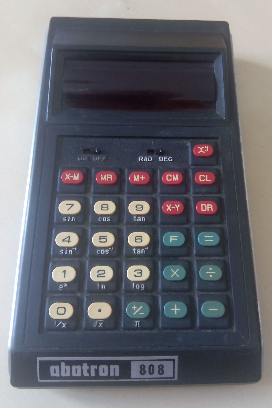 VERY RARE  VINTAGE ABATRON 808 SCIENTIFIC CALCULATOR