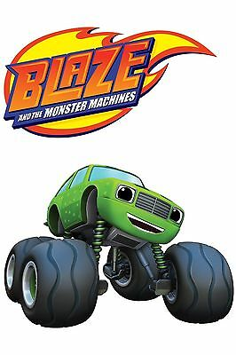 Blaze and the Monster Machines # 11 - 8 x 10 - T Shirt Iron On