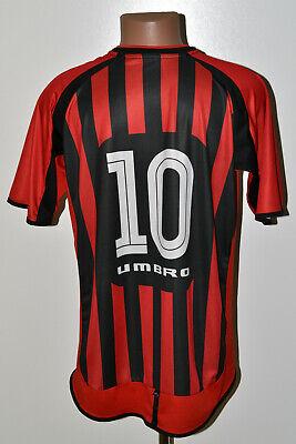 ATLETICO PARANAENSE BRAZIL 2002/2003 HOME FOOTBALL SHIRT UMBRO #10 SIZE XL ADULT image