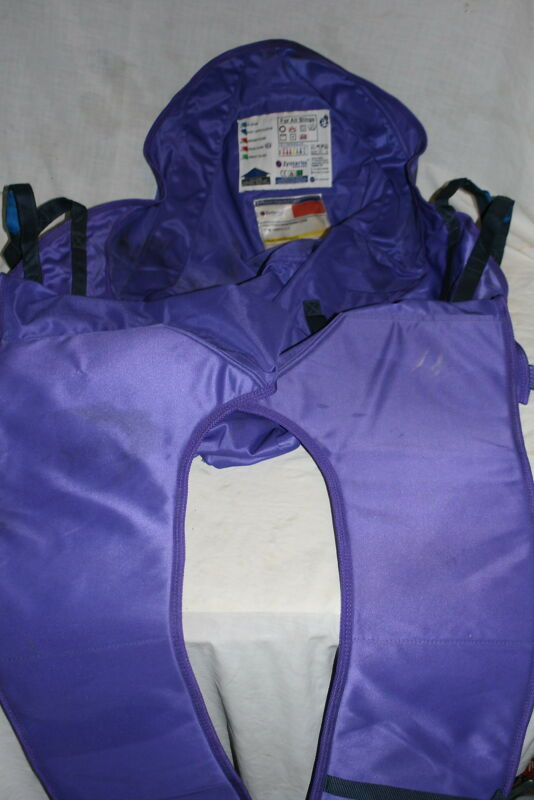 Zyntariss Full Back Hybrid Sling Purple