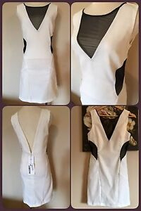 Sexy Cocktail White Dress (Small) Party Wedding Event NEW