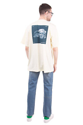 RRP €120 OAMC T-Shirt Top Size XL Printed Head of Hypnos Back Made in Portugal