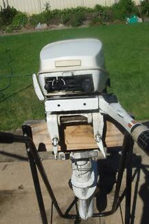 9.9 Johnson short shaft outboard motor.