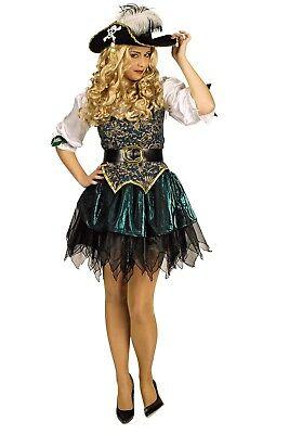 Kostüm Piratin Seeräuberin Freibeuterin Damen Angelica Pirat Karneval Fasching