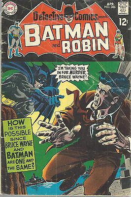 Detective Batman Robin DC Comics No 386 April 1969