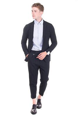 RRP€315 PAOLO PECORA Suit Mismatch Size Jacket 46 / S Trousers 48 / M Wool Blend