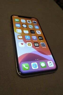 Apple iPhone X - 256GB - Silver (Verizon) A1865 (CDMA + GSM)
