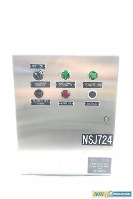 Hoffman C-sd20166ss Concept Stainless Electrical Enclosure 20 X 16 X 6in