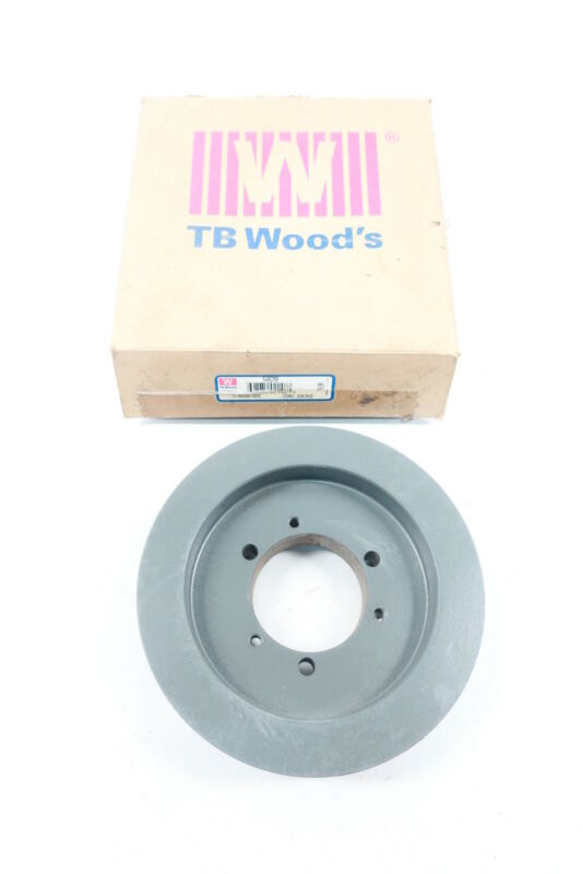 "TB WOOD/'S AK641 1/"" Fixed Bore 1 Groove Standard V-Belt Pulley 6.25/"" OD"