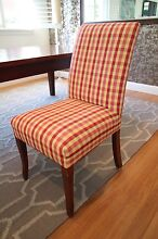 8 Fanuli upholstered dining chairs Willoughby East Willoughby Area Preview
