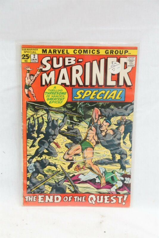 Marvel Prince Namor The Sub-Mariner Special #2 Silver Age Comic Book VG/F