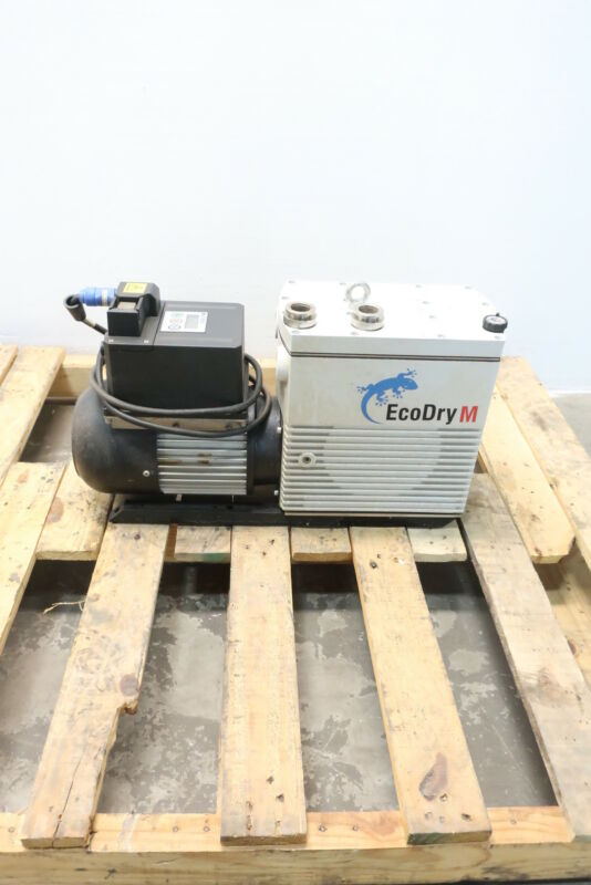 Leybold 130005 Ecodry M15 Vacuum Pump 15m3/h 0.9kw 100-240v-ac