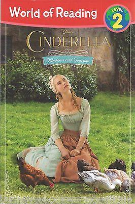Disney Princess Story Reader - CINDERELLA New DISNEY Princess EARLY READER Story BOOK Paperback LEVEL 2 Ella