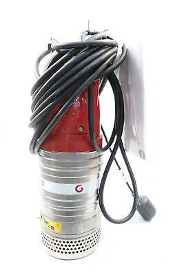 Flygt 8101.172-0013 Submersible Pump 131gpm 1.3hp 115v-ac
