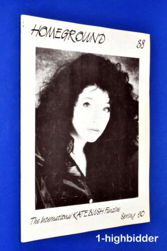 Kate Bush Homeground #38 Spring 1990 Rare UK Fanzine OOP