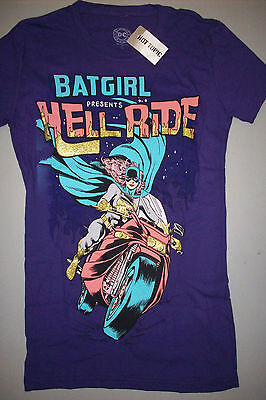 DC Comics Batgirl Glitter Hell Ride - Batgirl T Shirt