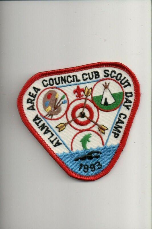 1993 Atlanta Area Council Cub Scout Day Camp patch