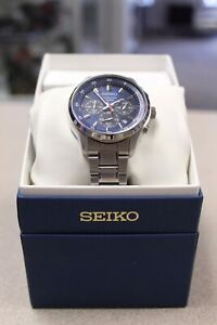 Seiko Chronograph 100m 4T53-00B0 Watch (#4181)