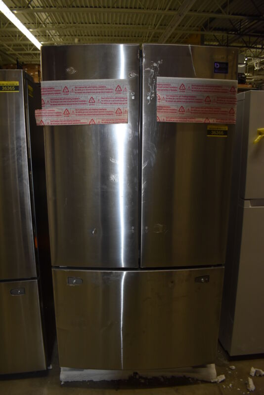 Samsung 25.5 Cu. Ft. French Door Refrigerator Stainless Steel RF260BEAESR