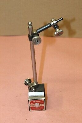 Starrett 657 Magnetic Indicator Base With 3 Clamps Inspection Tool In Box