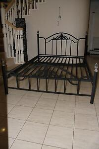 Queen Size Wrought Iron Bed, excelent condition Bridgeman Downs Brisbane North East Preview