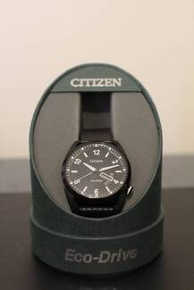 Citizen Eco-Drive Watch (Black, Great Condition)