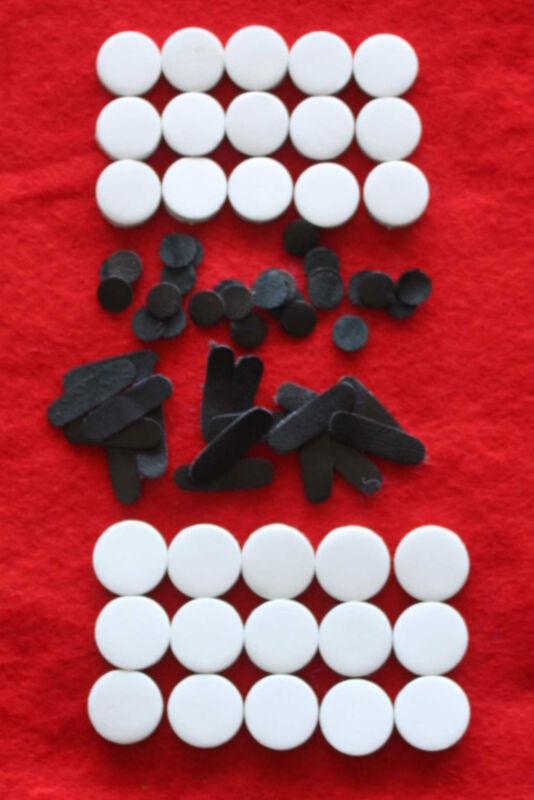 Concertina Parts - Set of 30 Pads