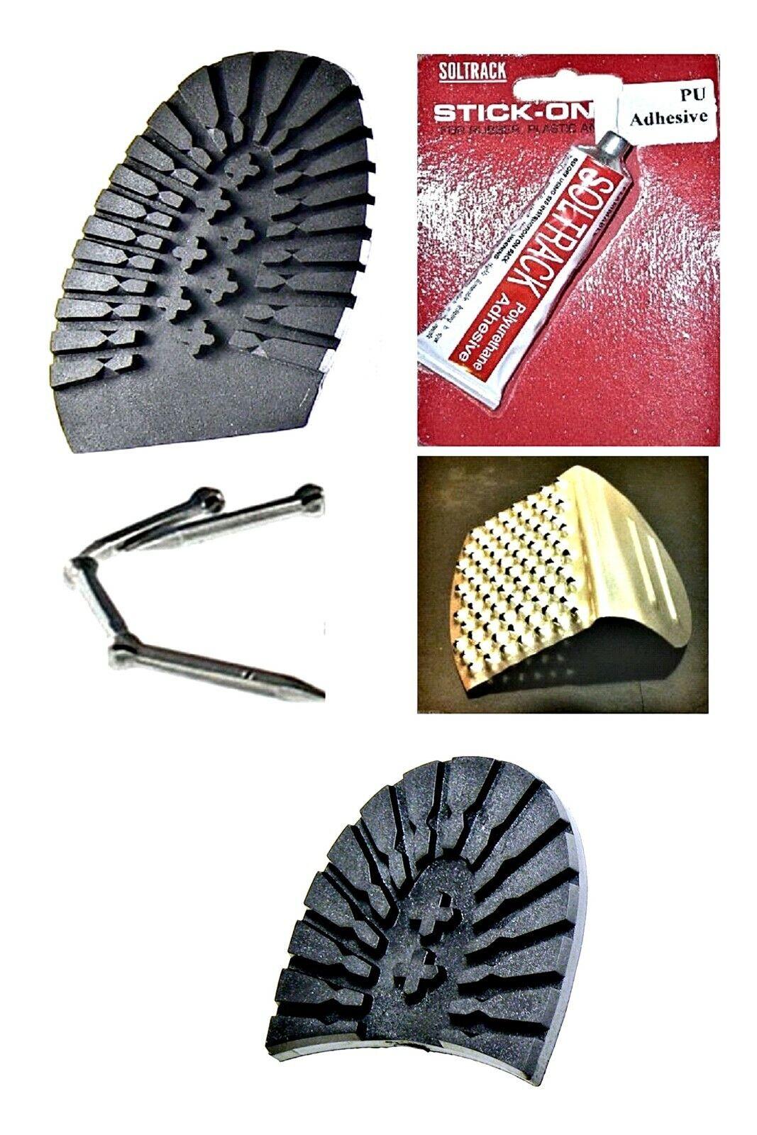 Ladies Walking Sole and Heel Packs in Black For DIY Shoe Repairs
