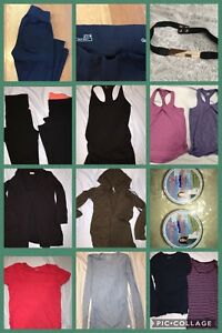 Small and medium workout and other maternity