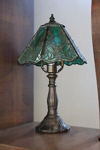 Gorgeous old lamp $85