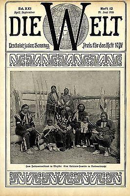 Indianeraufstand Mexiko Aukasaws in Nationaltracht Historische Aufnahme von (Trachten Von Mexiko)